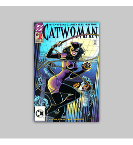 Catwoman 1 Embossed 1993