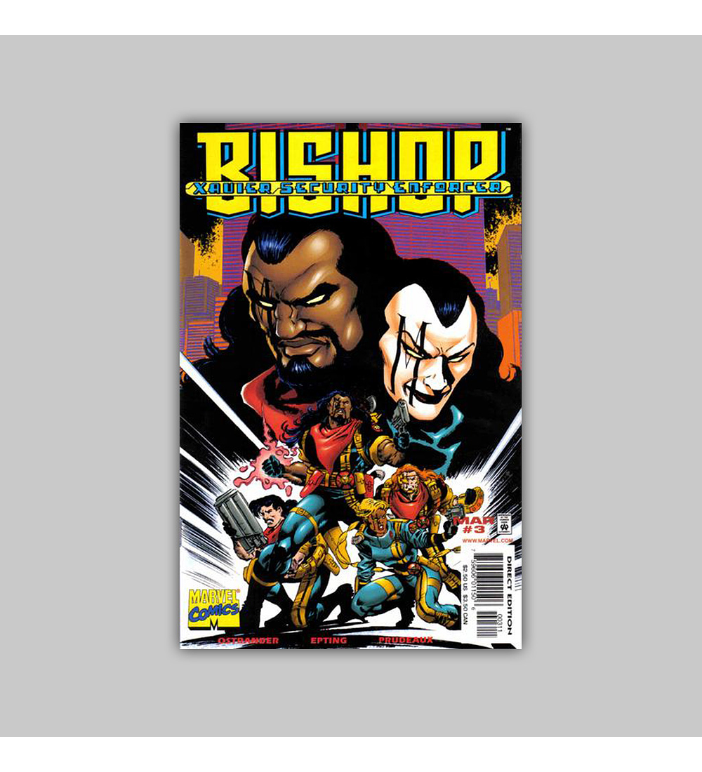 Bishop: Xavier's Security Enforcer (complete limited series) 1998