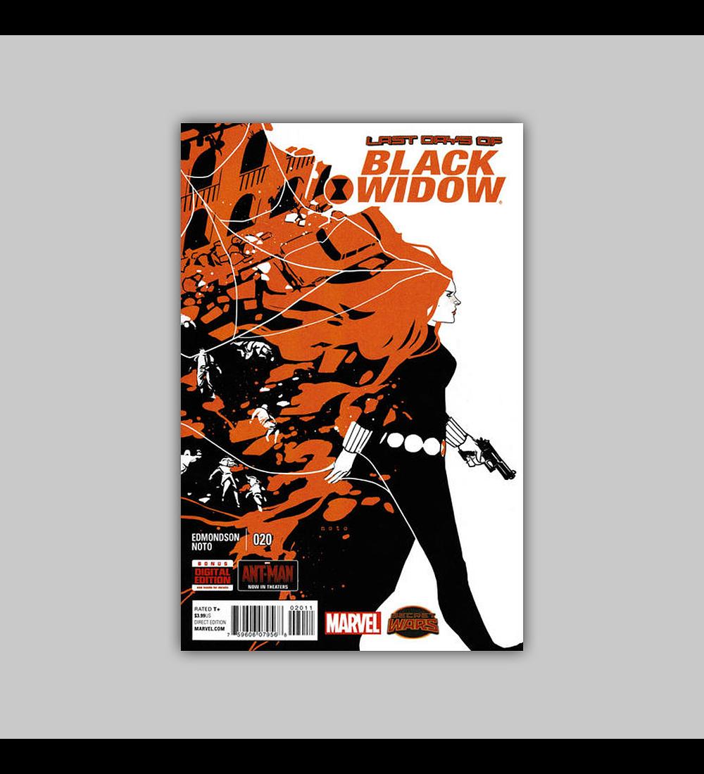 Black Widow (Vol. 3) 20 2015