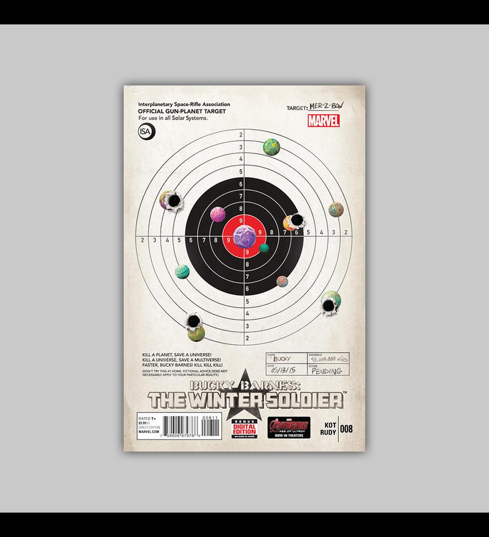 Bucky Barnes: Winter Soldier 8 2015