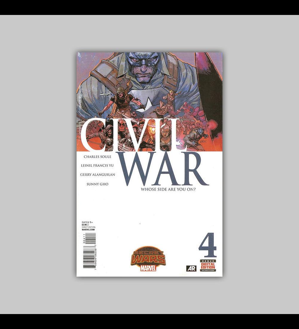 Civil War (Secret Wars) 4 2015