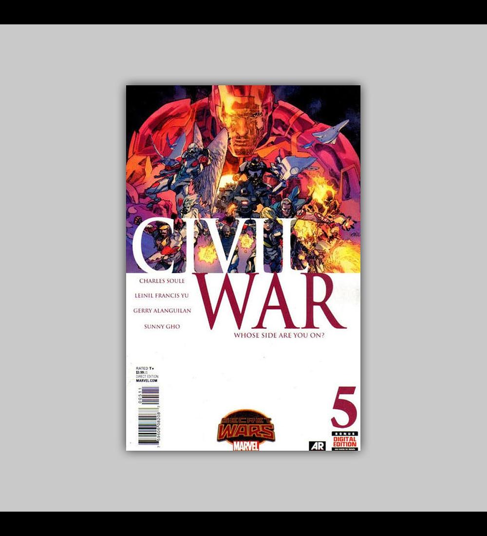 Civil War (Secret Wars) 5 2015