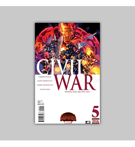 Civil War (Secret Wars) 5 2015