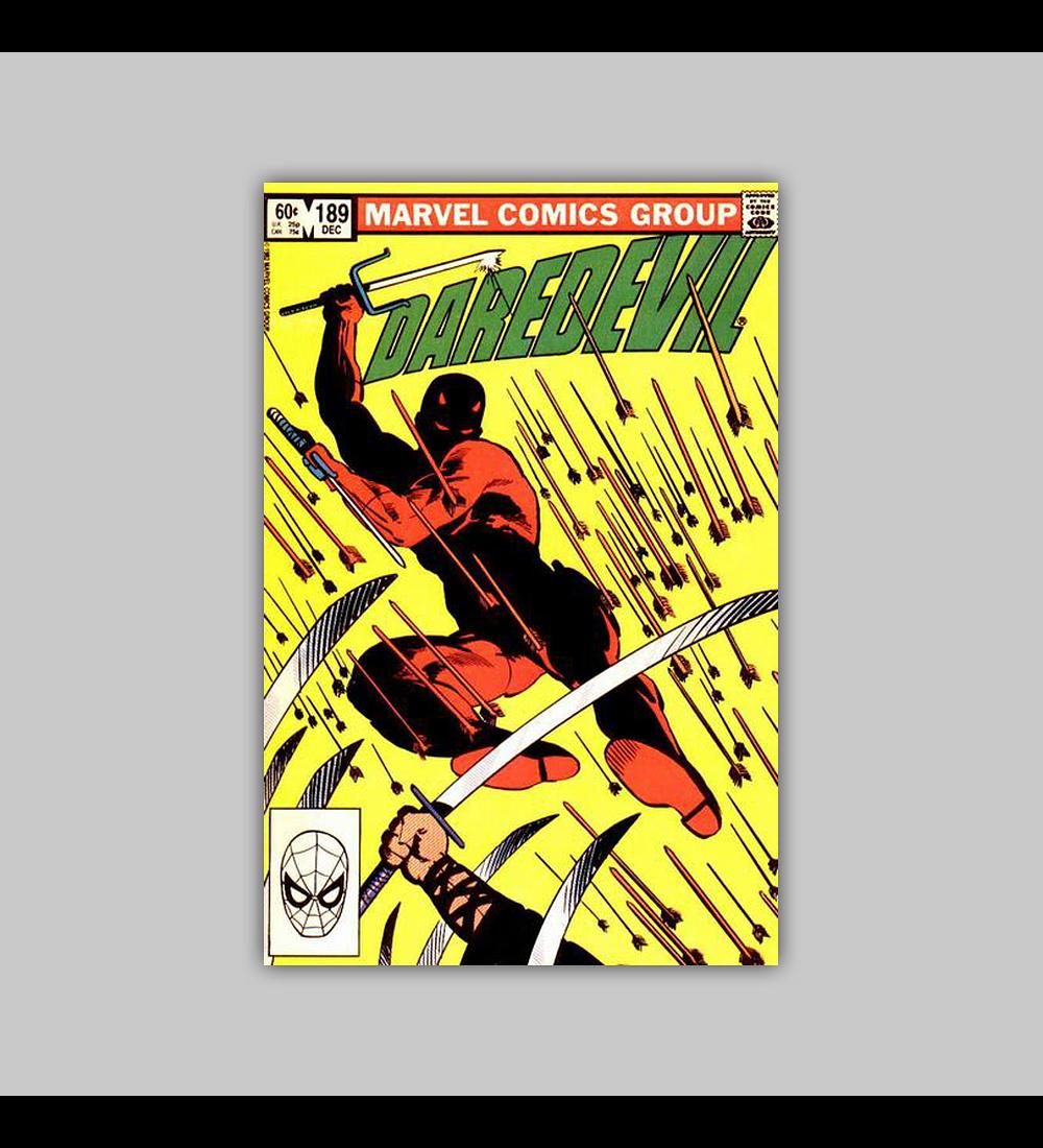 Daredevil 189 1982