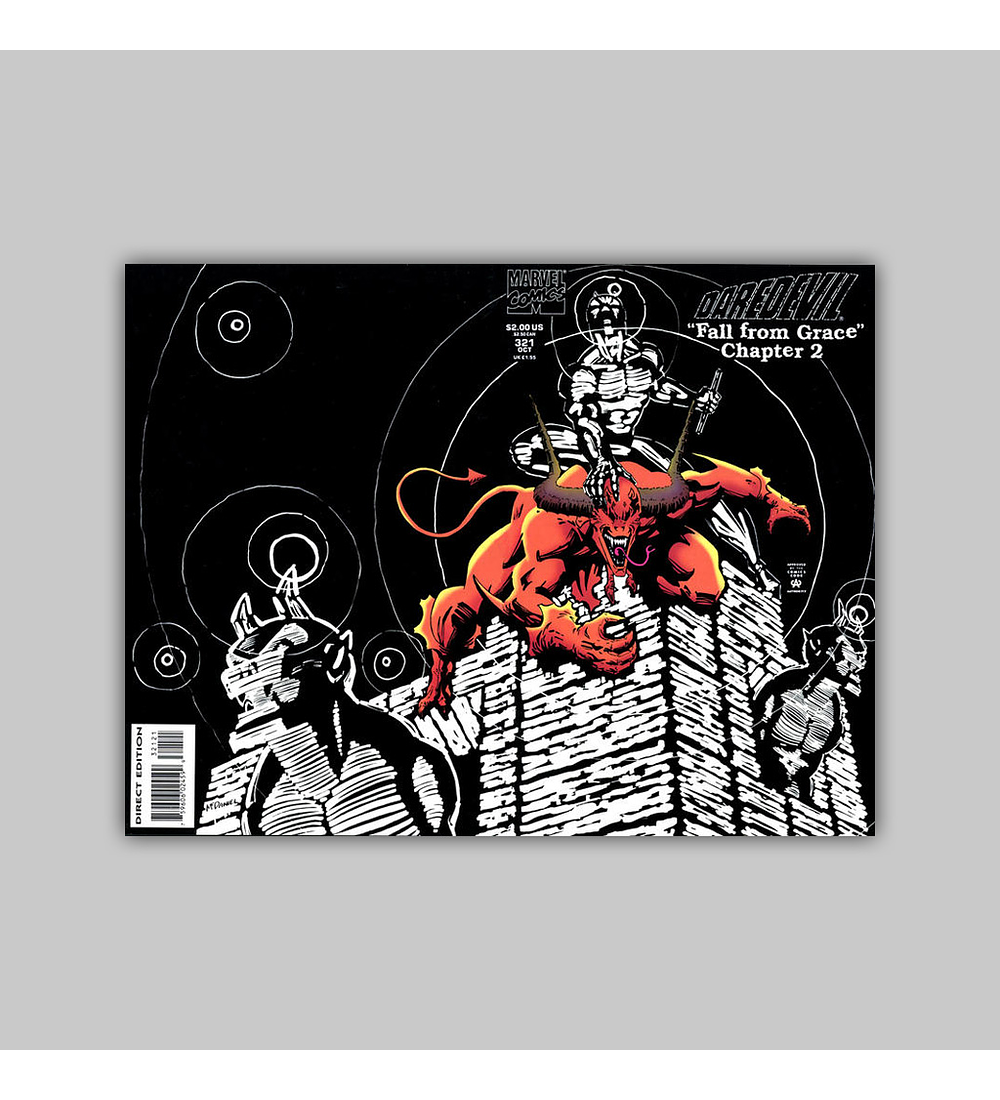 Daredevil 321 Glow In the Dark 1993