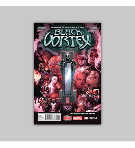 Guardians of the Galaxy and  X-Men: The Black Vortex Alpha 1 2015