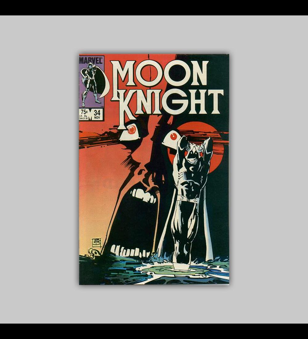 Moon Knight 34 1983