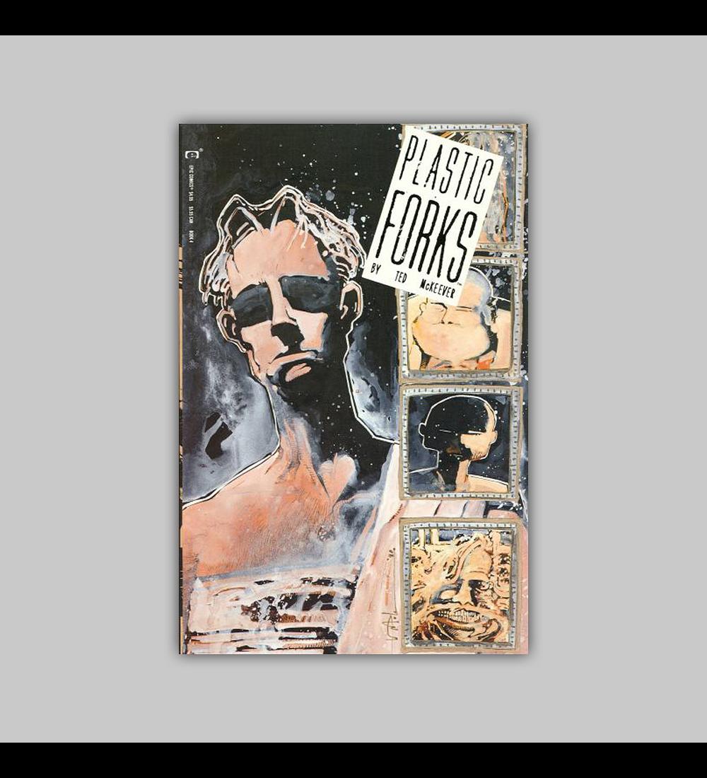 Plastic Forks 4 1990