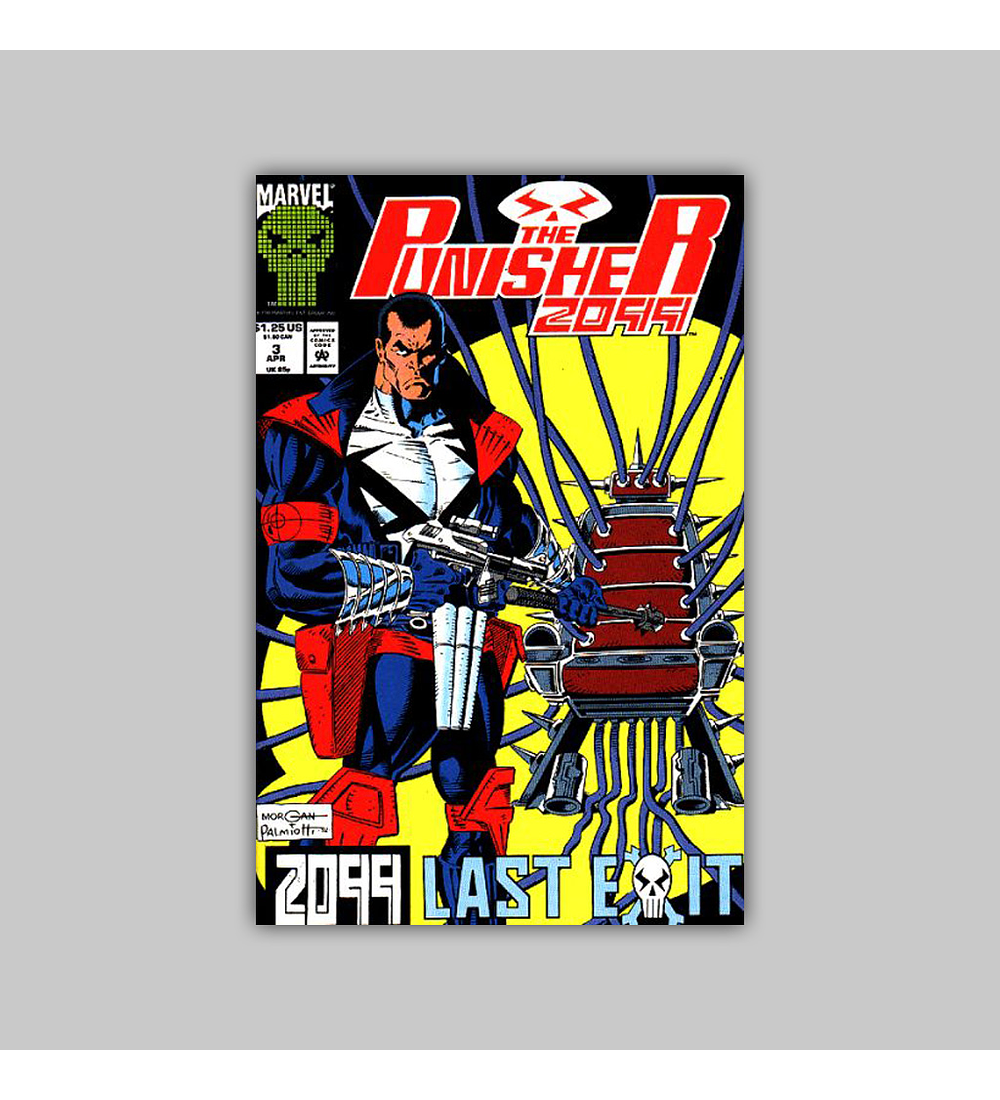 The Punisher 2099 3 1993