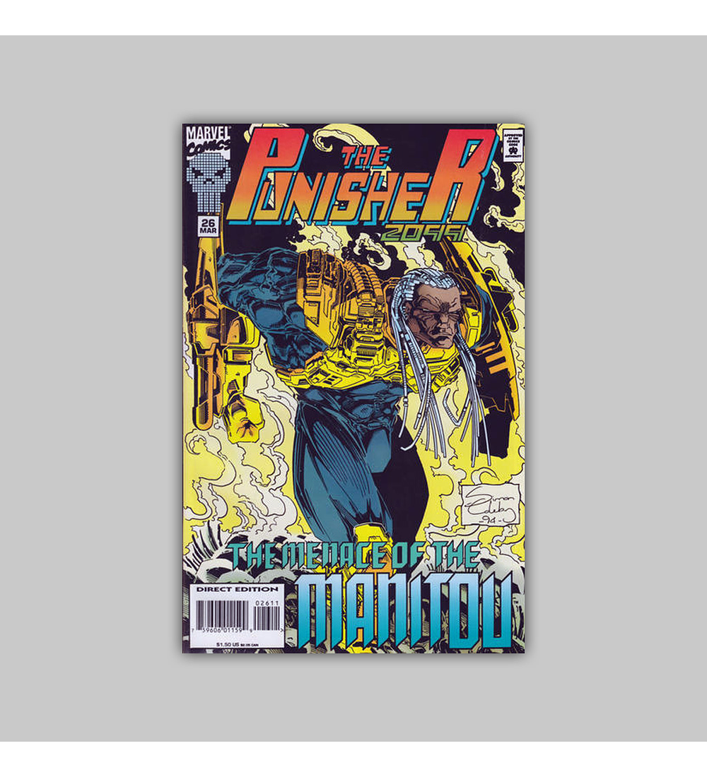 The Punisher 2099 26 1995