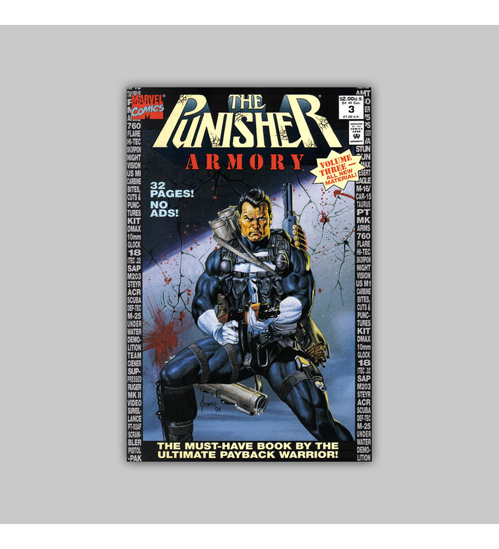 The Punisher Armory 3 1992