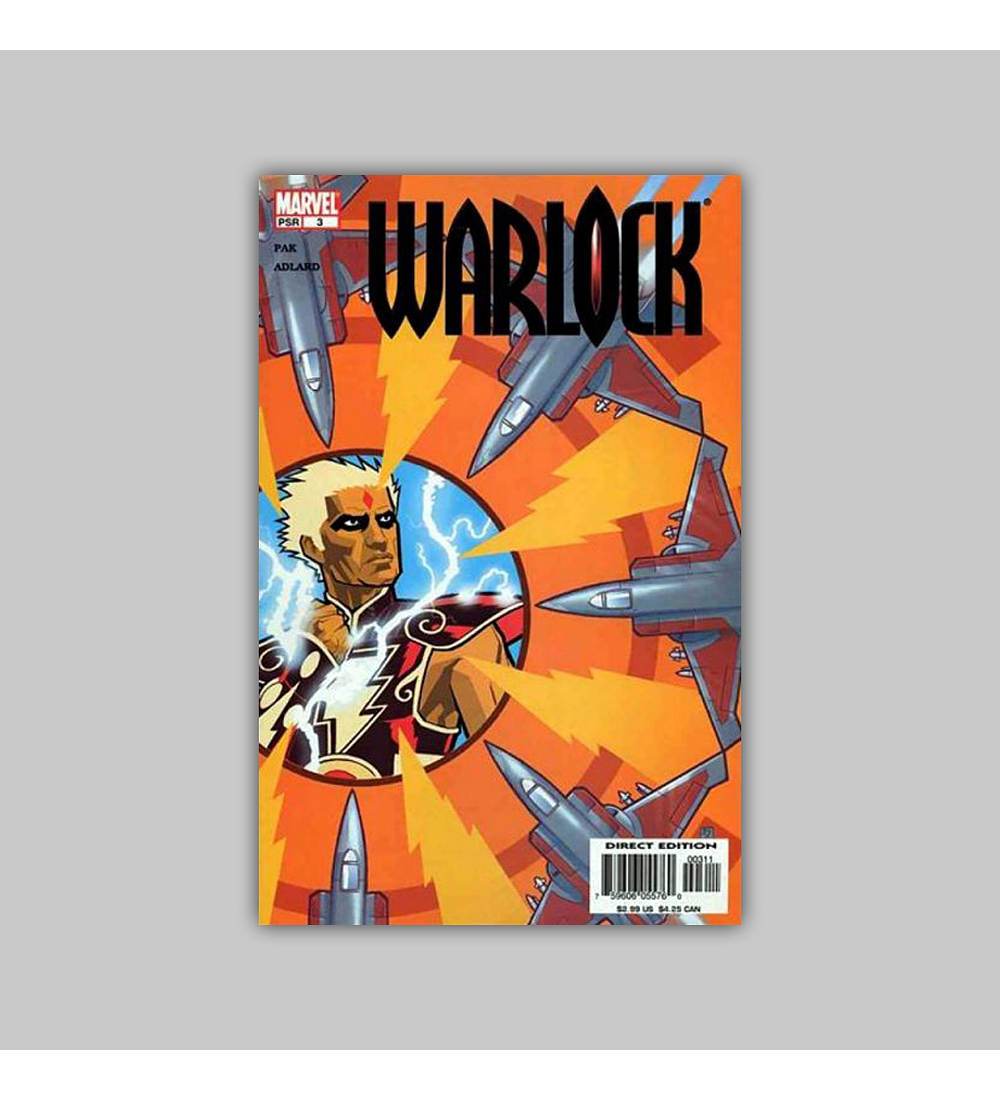 Warlock (Vol. 2) 3 2005