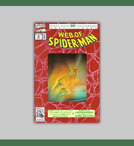 Web of Spider-Man 90 Hologram 2nd printing 1992