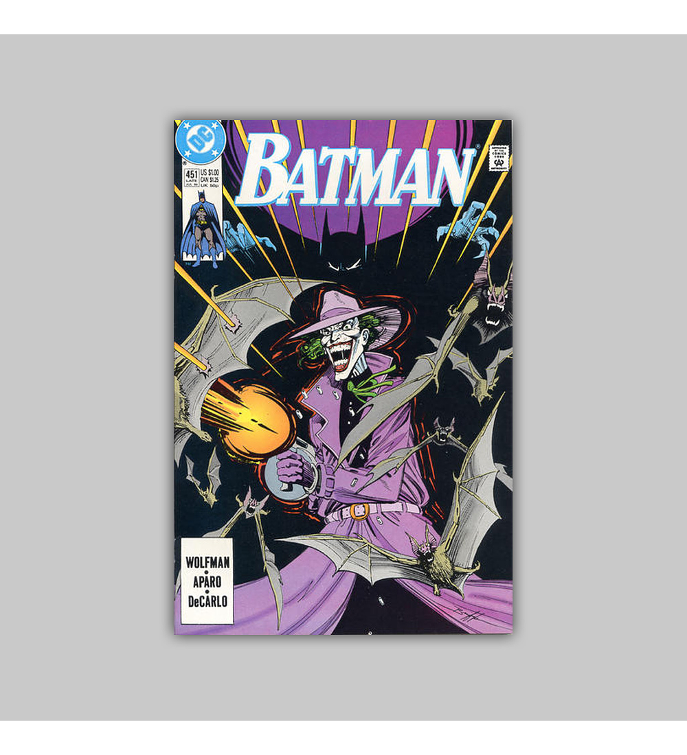 Batman 451 1990
