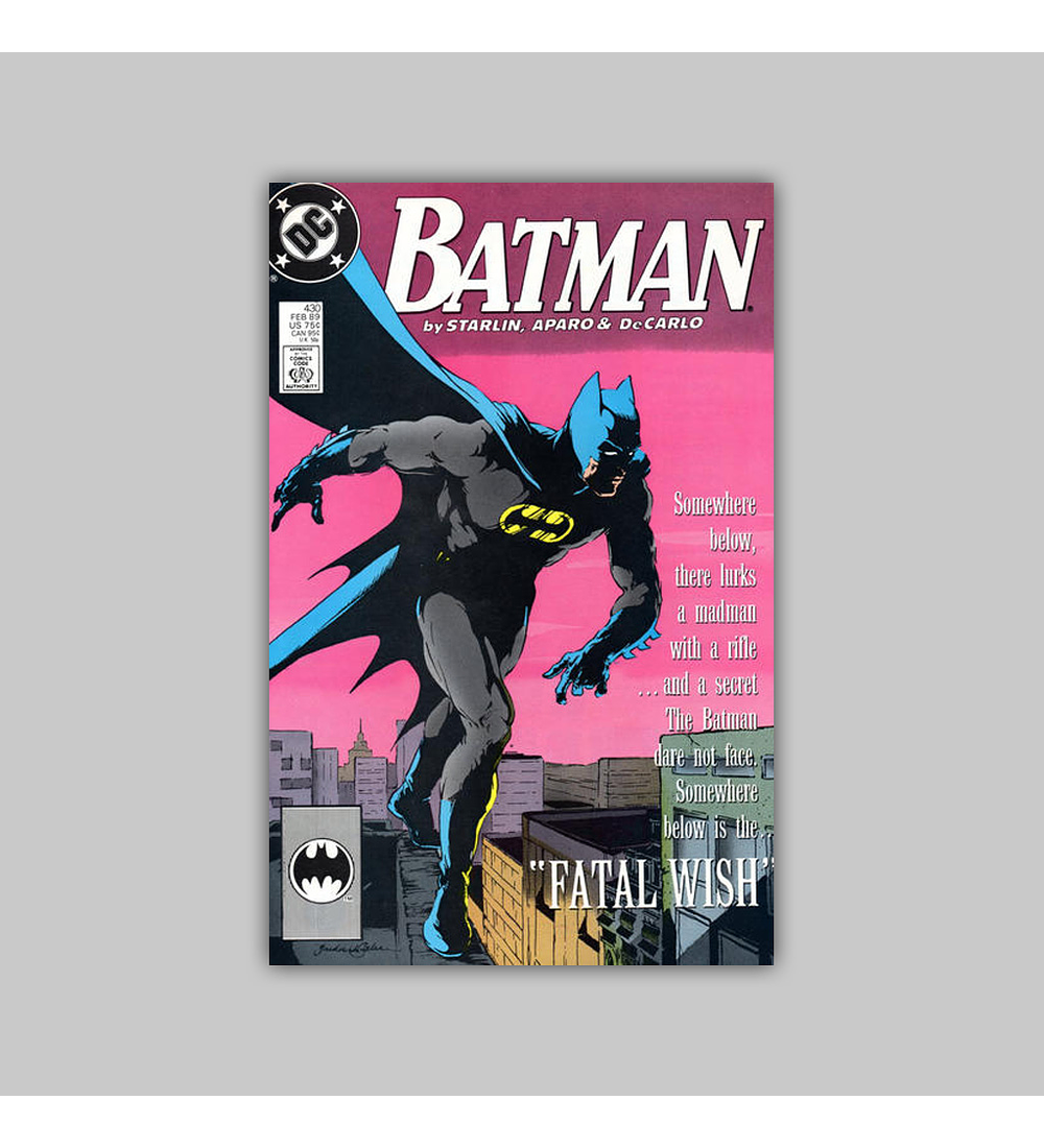 Batman 430 1989