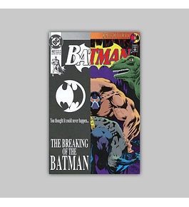 Batman 497 2nd Printing 1993