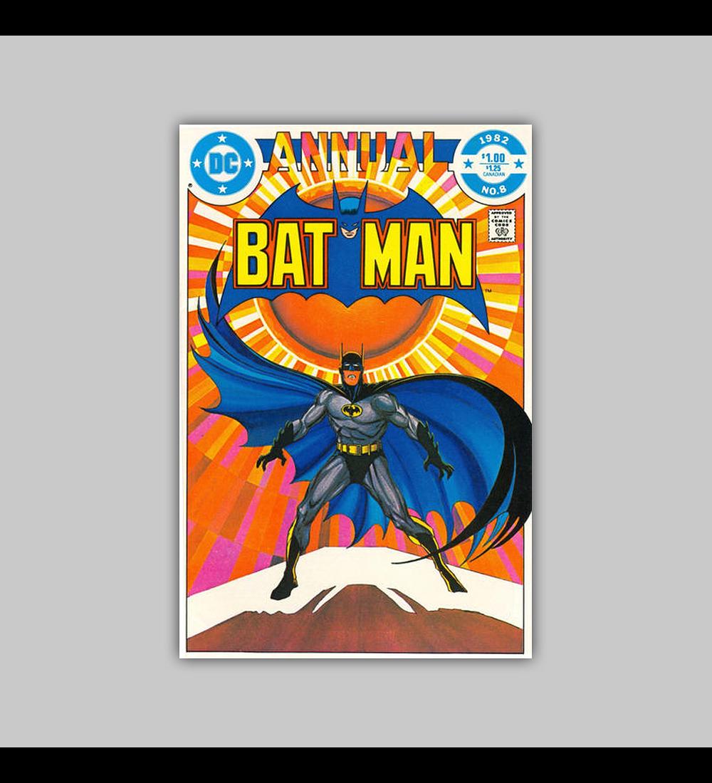 Batman Annual 8 1982