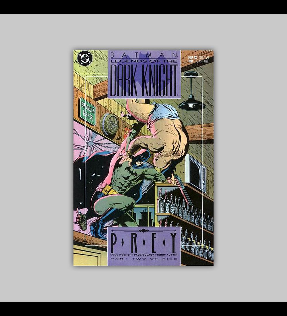 Batman: Legends of the Dark Knight 12 1990