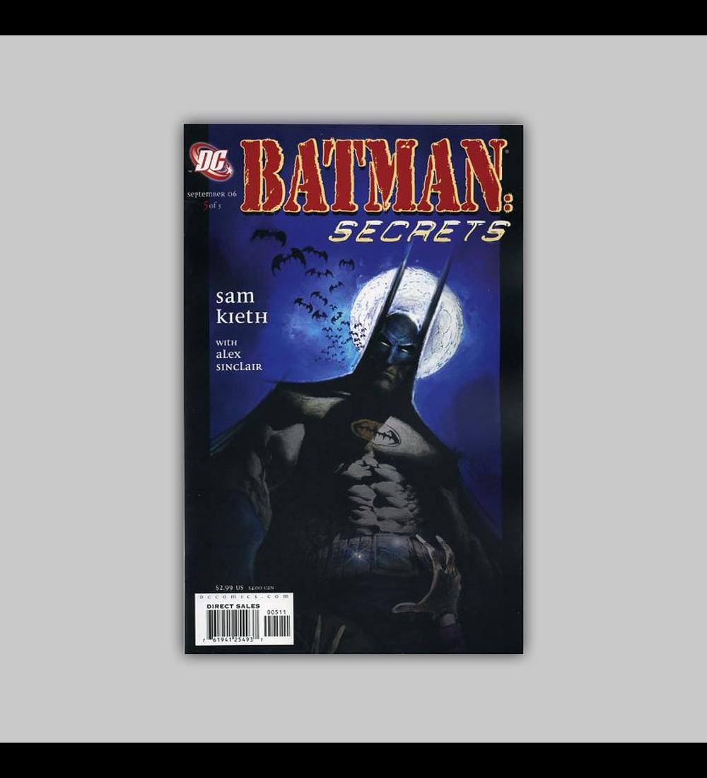 Batman: Secrets 5 2006