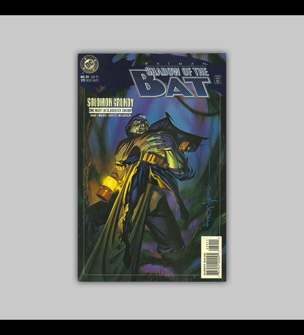 Batman: Shadow of The Bat 39 1995