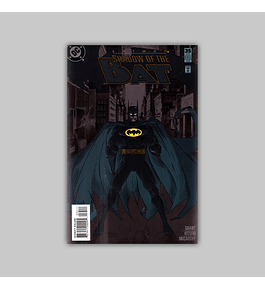 Batman: Shadow Of The Bat 35 Embossed 1995