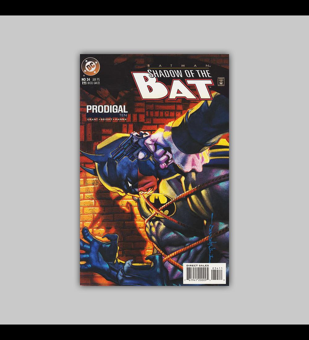 Batman: Shadow Of The Bat 34 1995