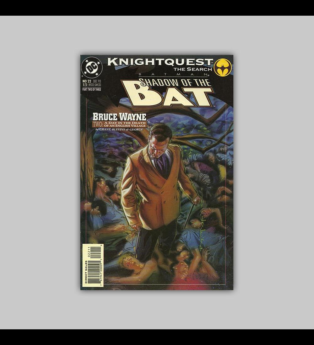 Batman: Shadow of the Bat 22 1993