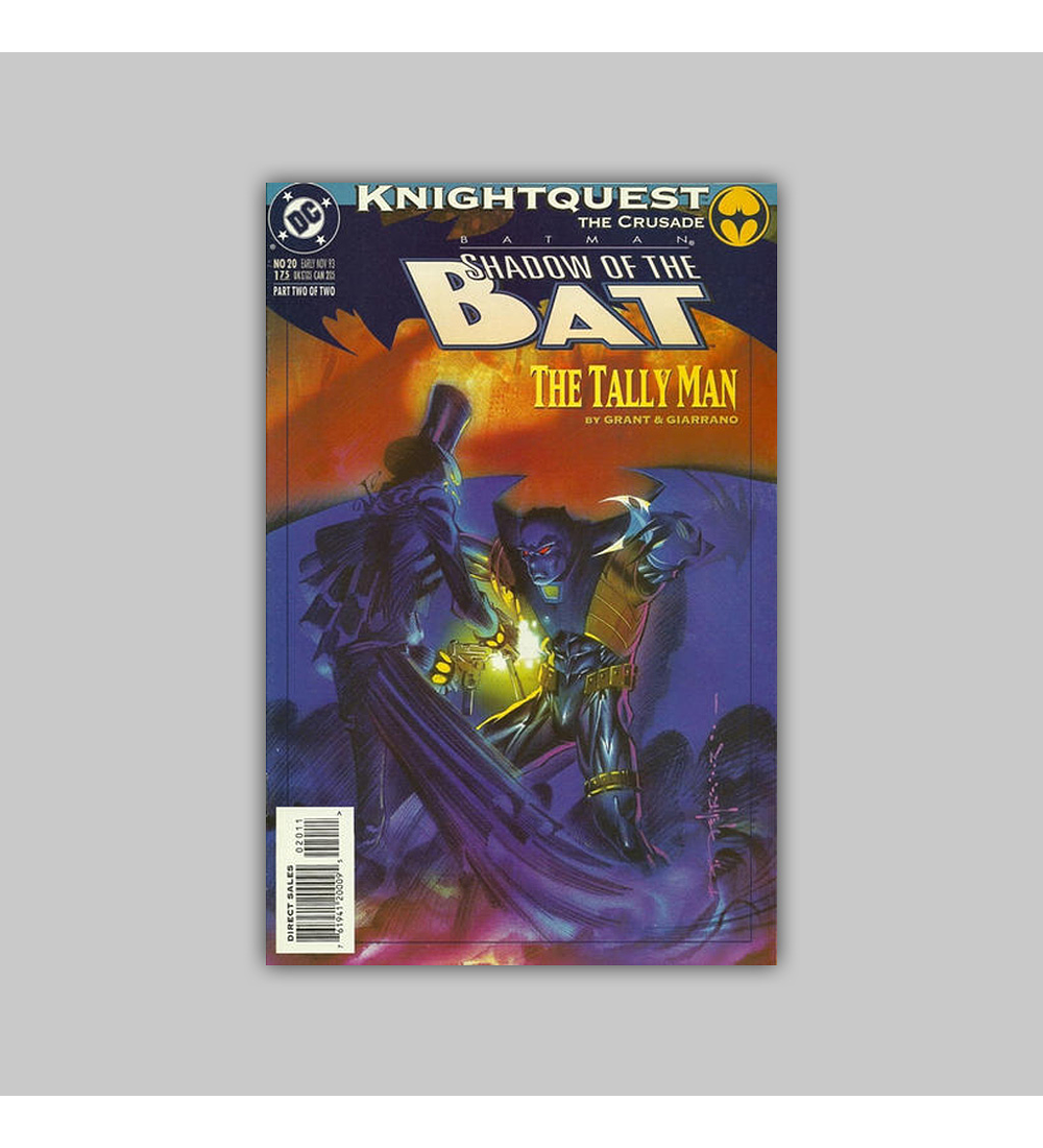 Batman: Shadow of the Bat 20 1993