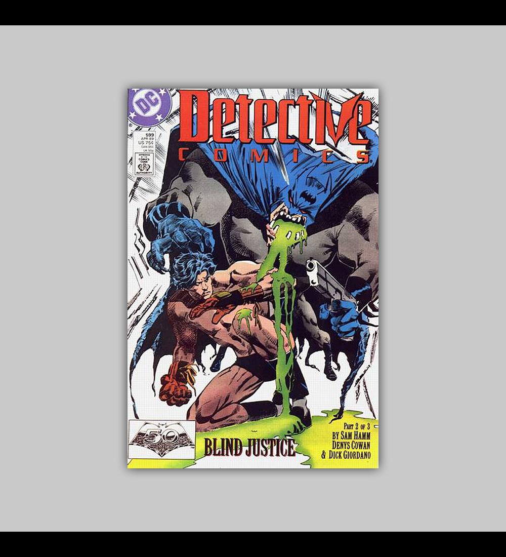 Detective Comics 599 1989