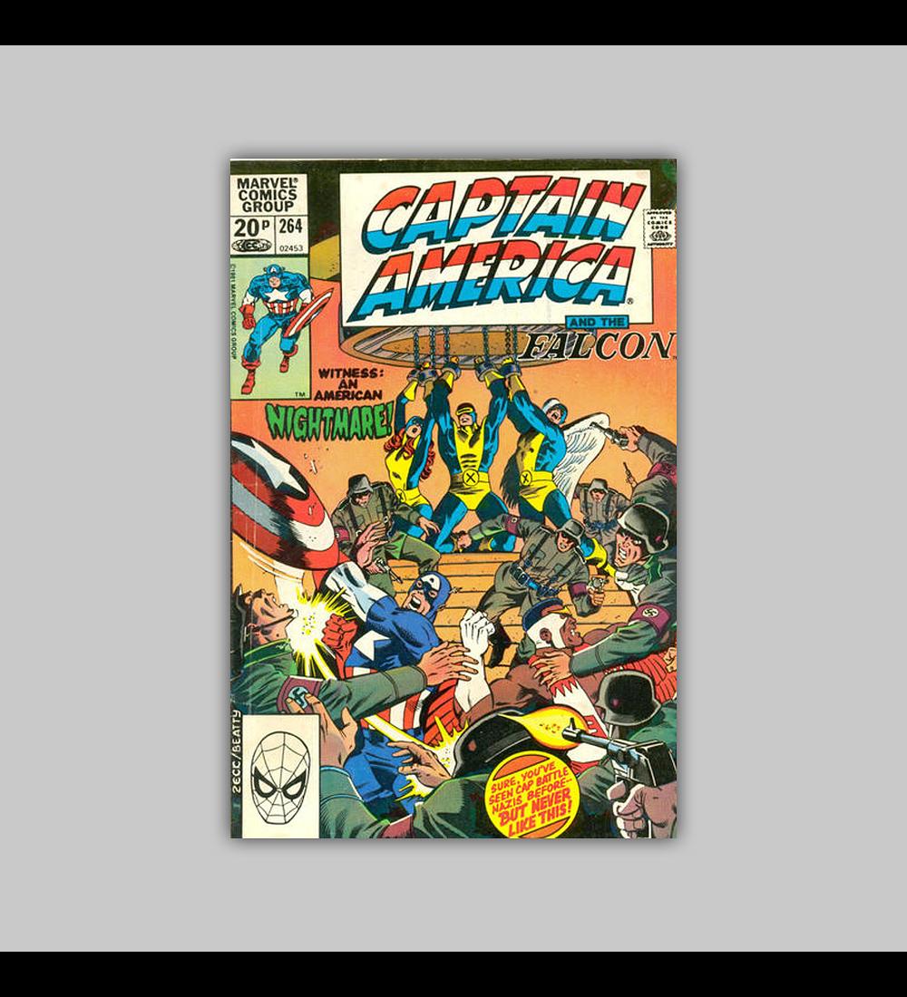 Captain America 264 1981