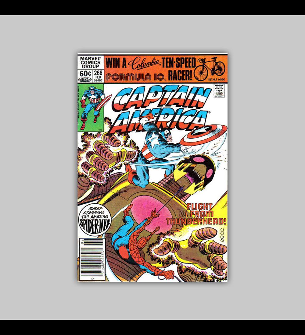 Captain America 266 1982