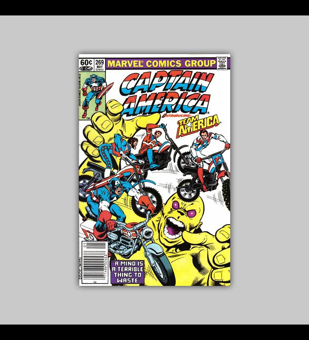 Captain America 269 1982