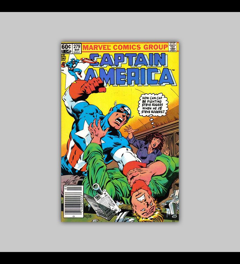 Captain America 279 1983