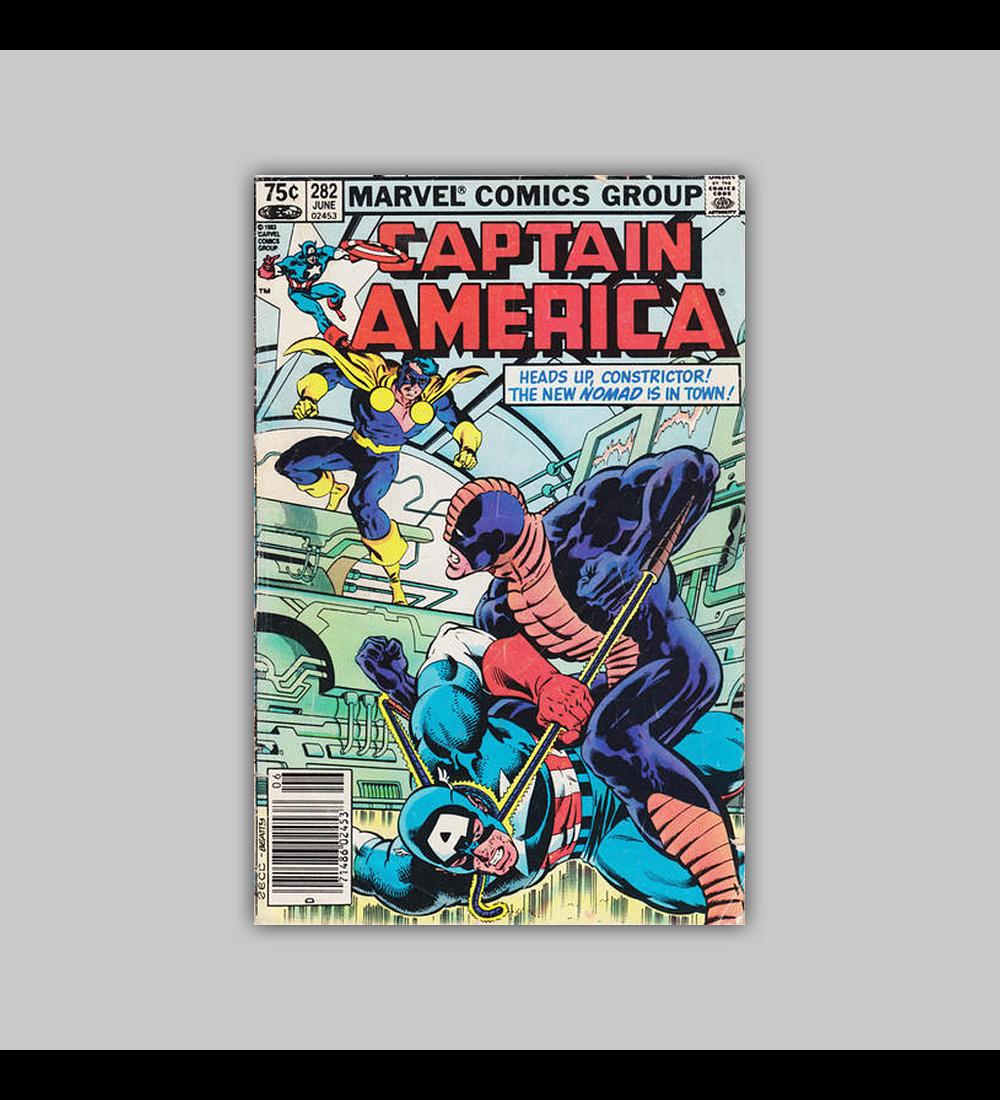 Captain America 282 1983