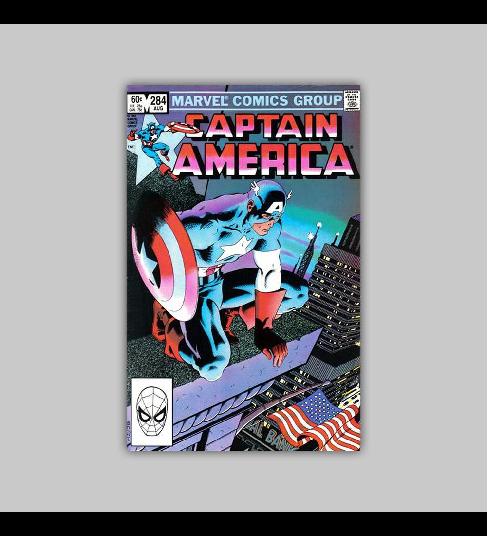 Captain America 284 1983