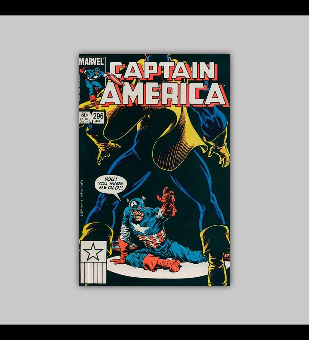 Captain America 296 1984