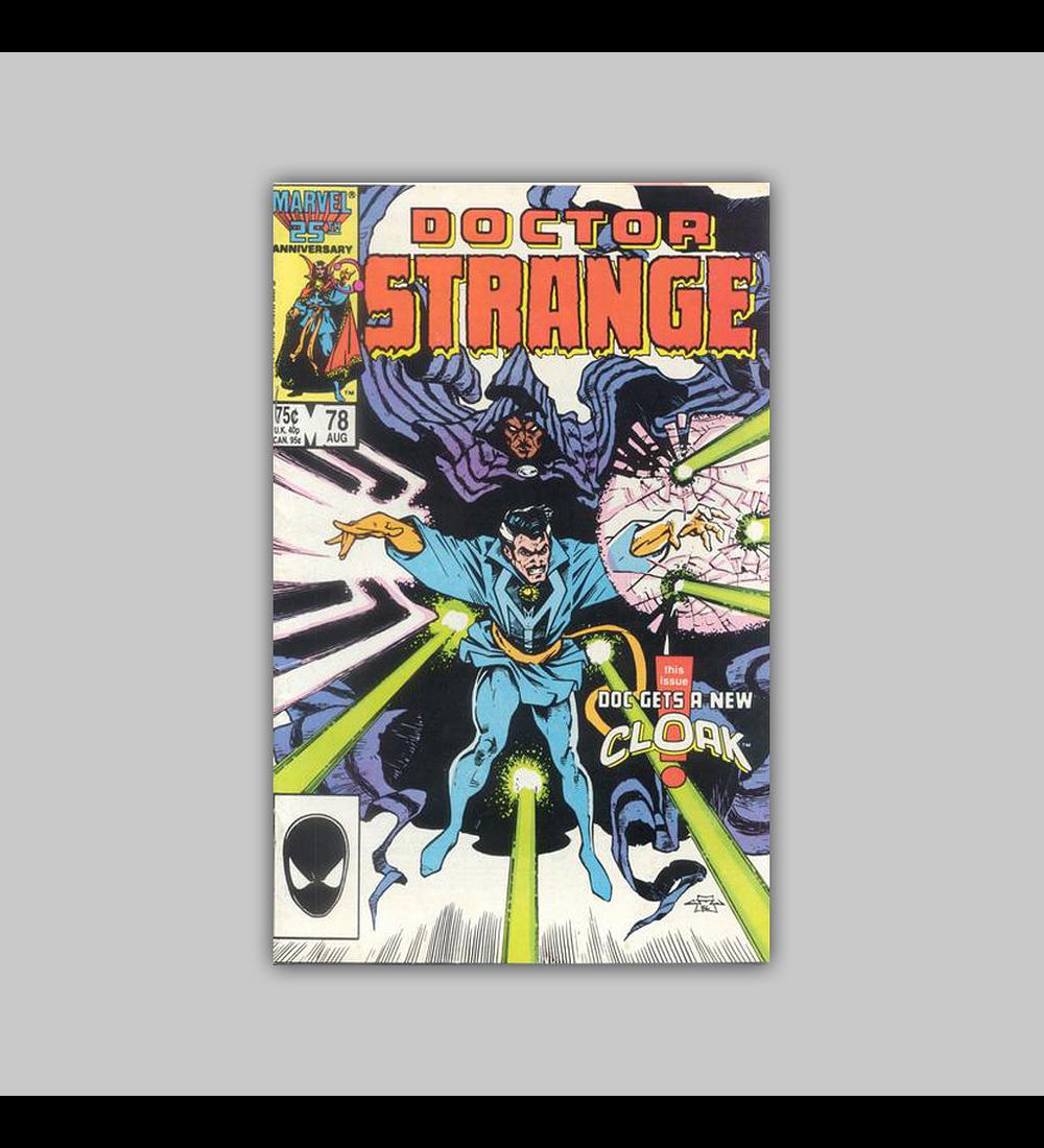 Doctor Strange 78 1986