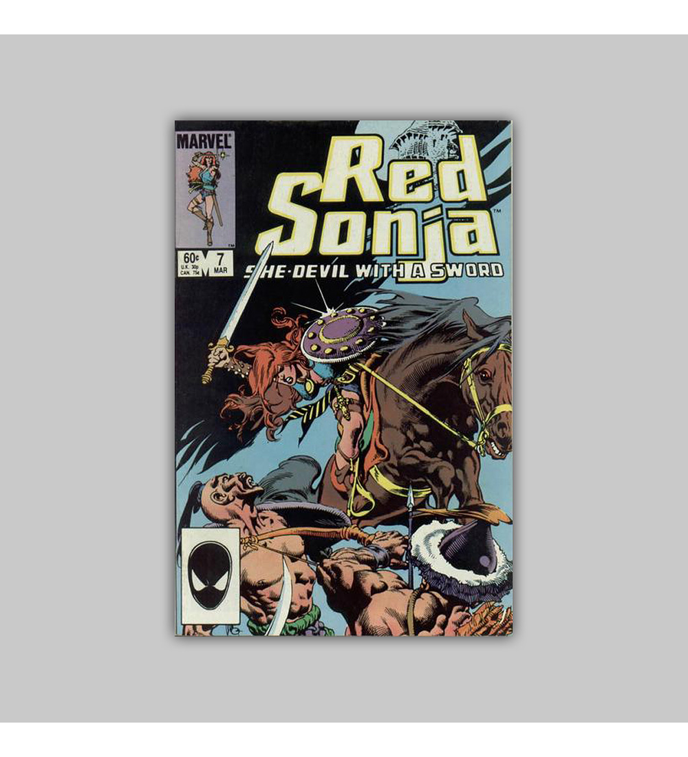Red Sonja (Vol. 3) 7 1985