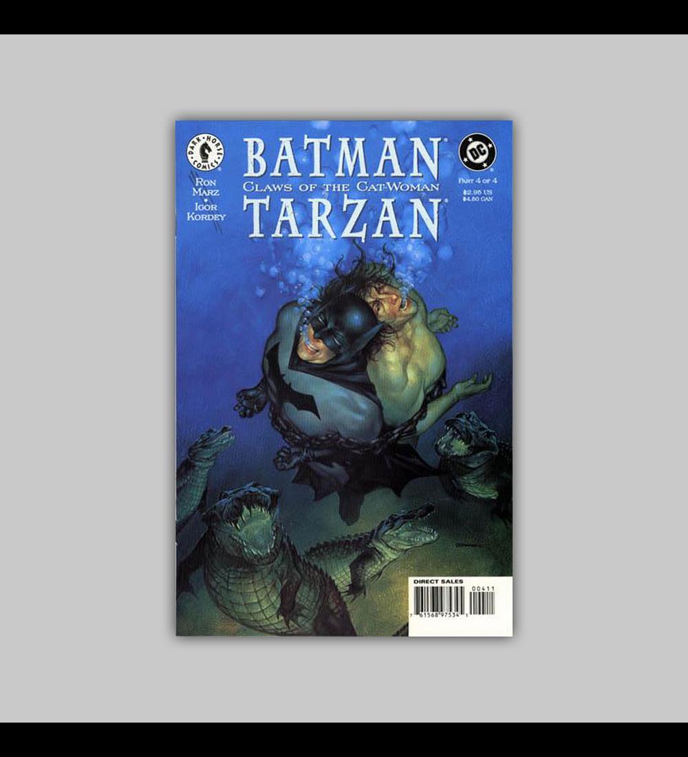 Batman/Tarzan: Claws of the Catwoman 4 1999