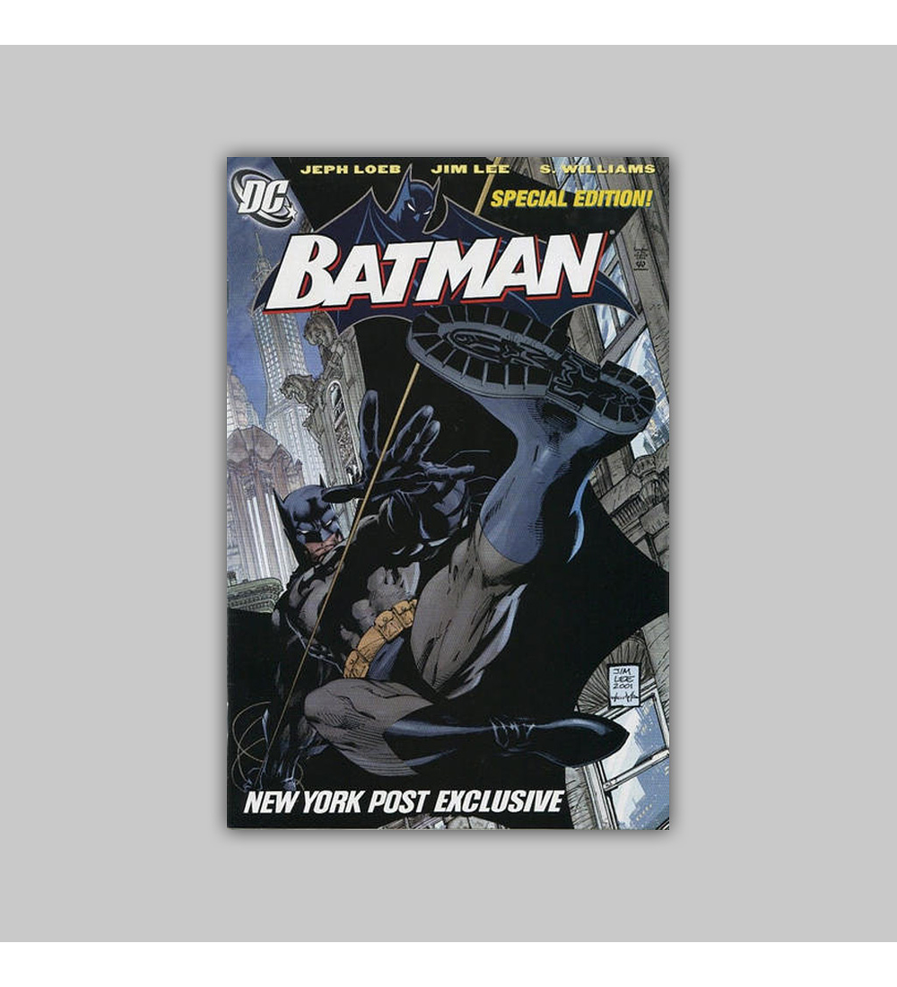 Batman 608 New York Post Exclusive