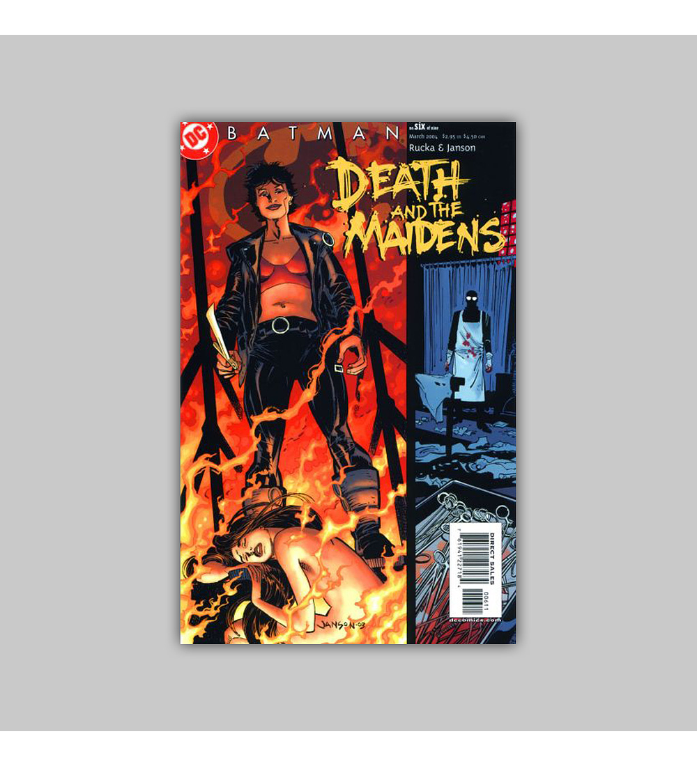 Batman: Death and the Maidens 6 2004