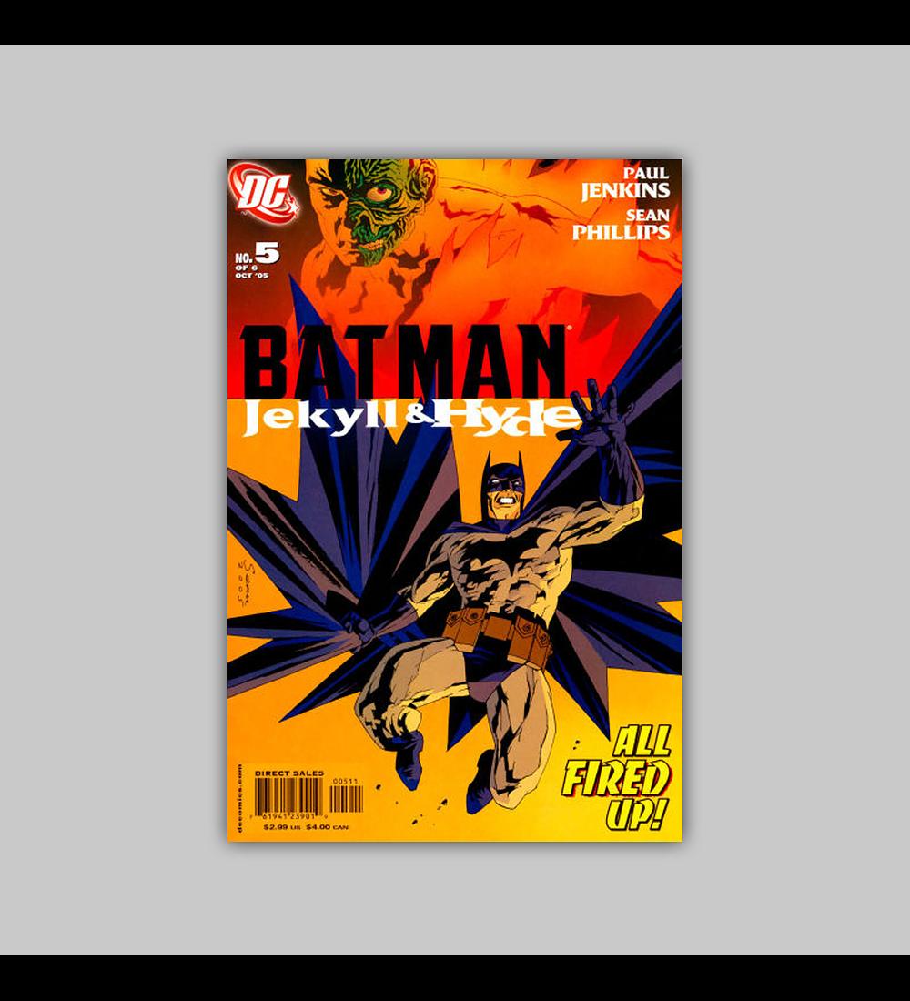 Batman: Jekyll and Hyde 5 2005