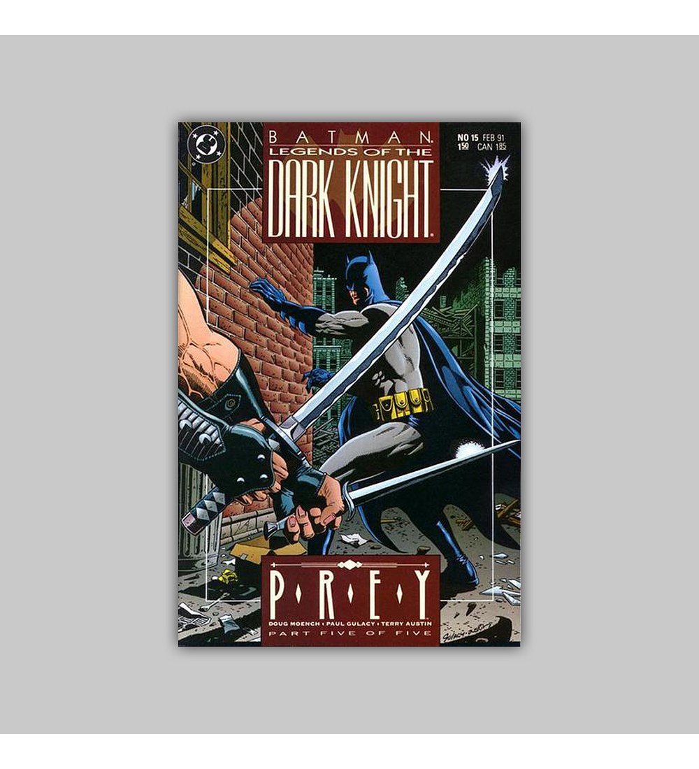 Batman: Legends of the Dark Knight 15 1991