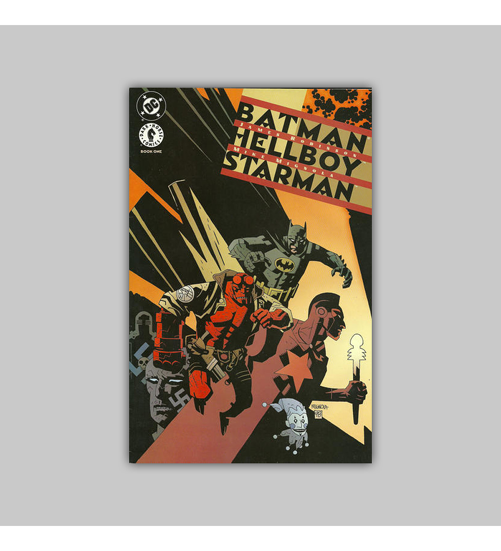 Batman/Hellboy/Starman (complete limited series) 1998