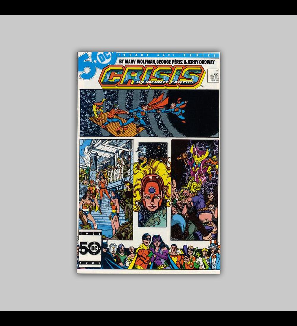 Crisis On Infinite Earths 11 1986