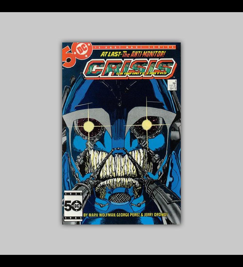 Crisis On Infinite Earths 6 1985