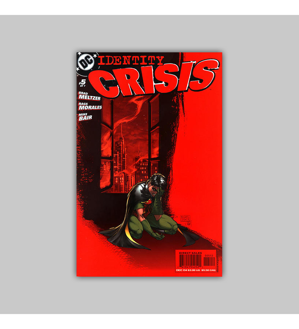 Identity Crisis 5 2nd Printing 2004