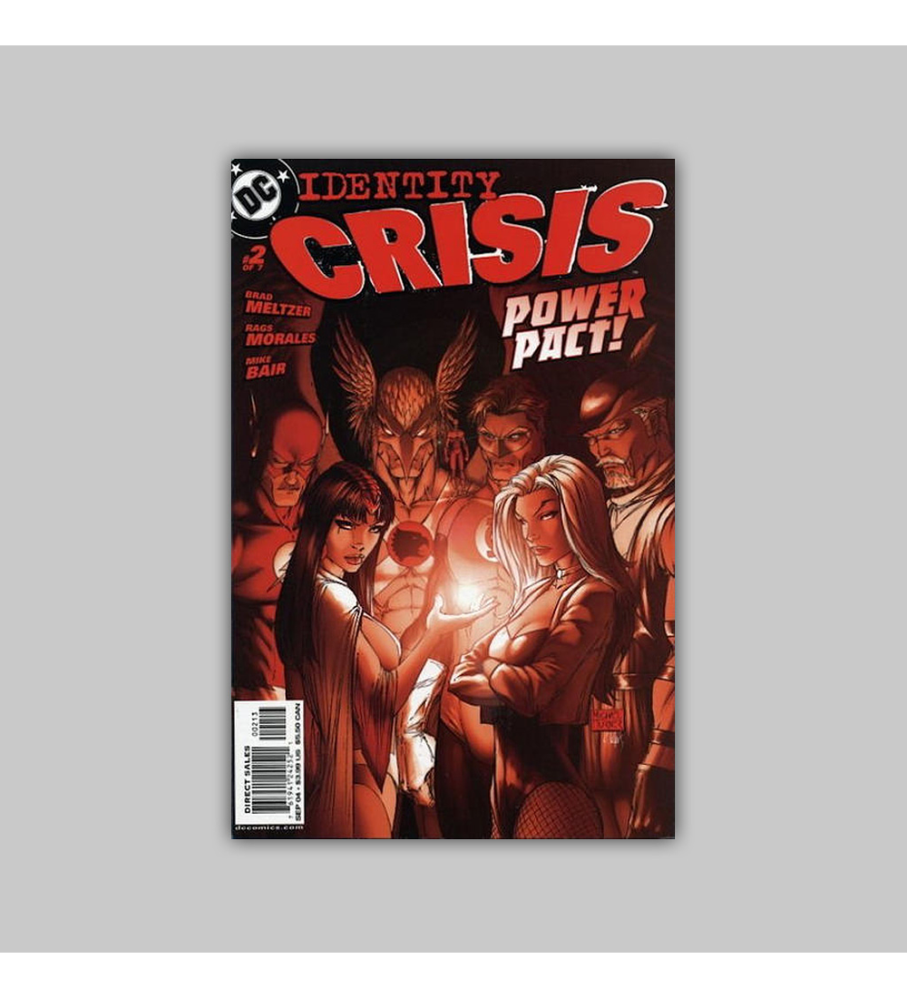 Identity Crisis 2 3rd Printing 2004