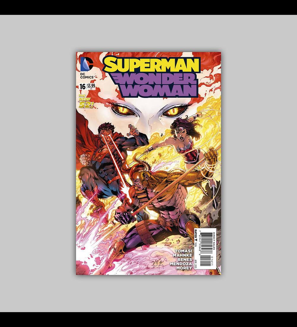 Superman/Wonder Woman 16 2015