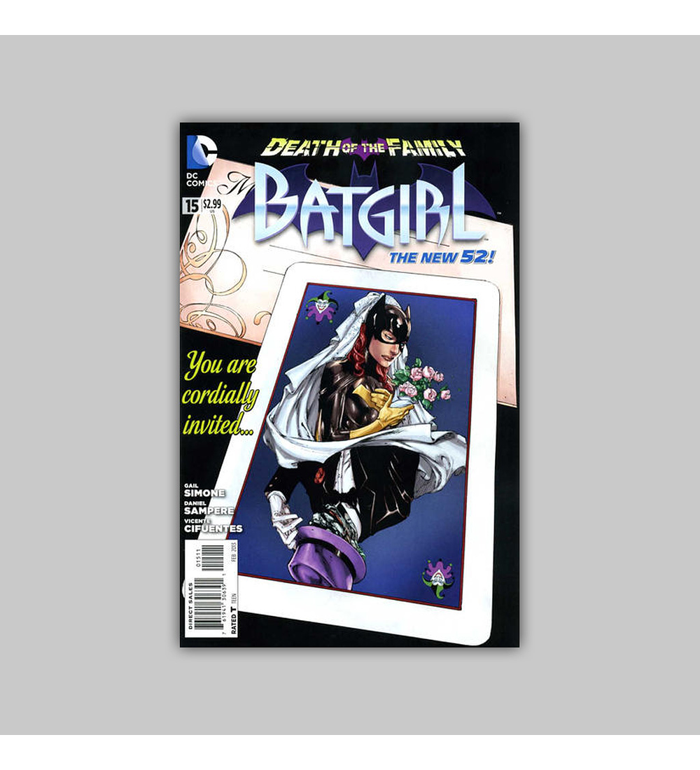 Batgirl (Vol. 2) 15 2013